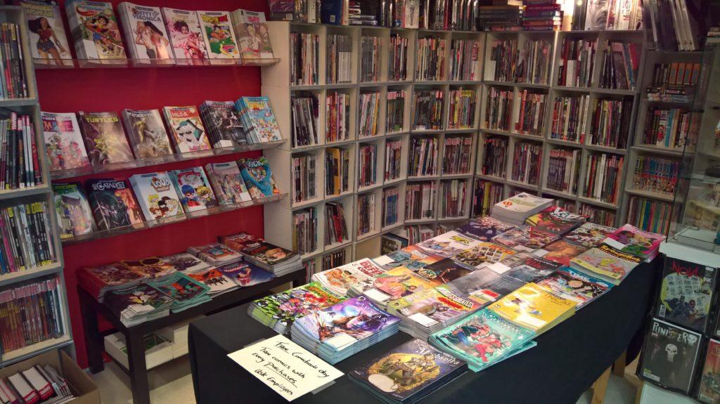 Free Comic Book Day CIA Comics Amsterdam