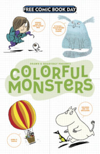 Free Comic Book Day 2017 Colorful Monsters