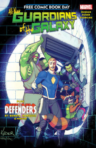 Free Comic Book Day 2017 Guardians of the Galaxy