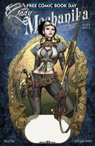 Free Comic Book Day 2017 Lady Mechanica