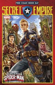 Free Comic Book Day 2017 Secret Empire