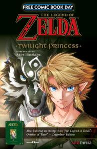 Free Comic Book Day 2017 Legend of Zelda