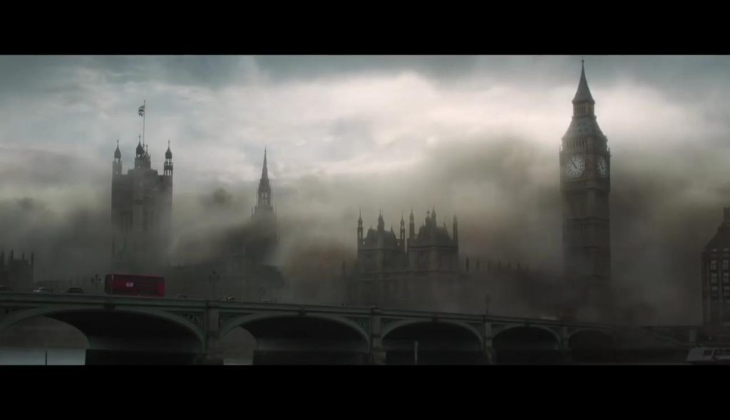 Londen in een zandstorm