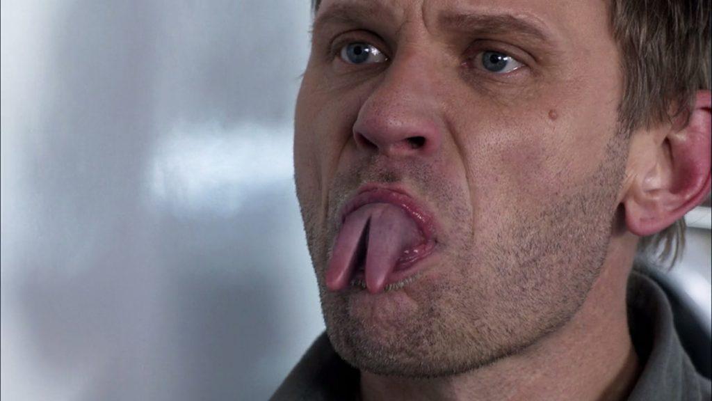 Supernatural gespleten tong