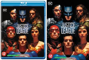 Justice League Blu-Ray / DVD webshop