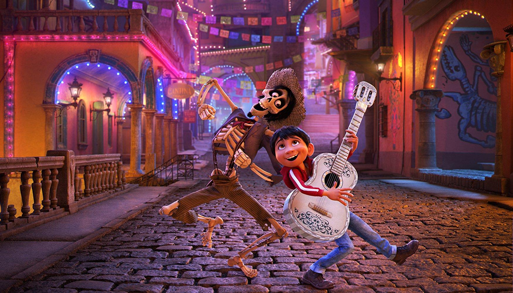 Coco Blu-Ray winactie Coco muziek