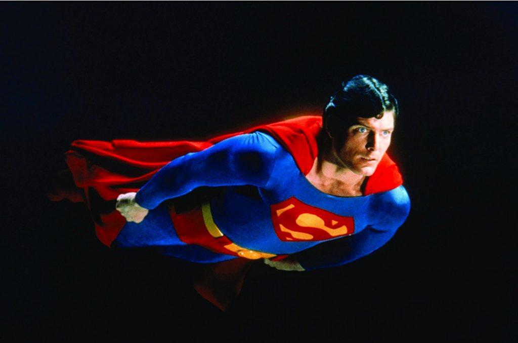 De historie van Superman Christopher Reeve