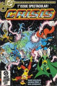 De historie van Superman: Crisis on Infinite Earths