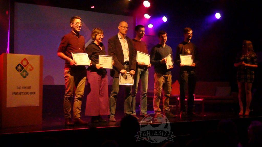 Dag van het Fantastische Boek 2018 winnaars Harland Verhalenwedstrijd