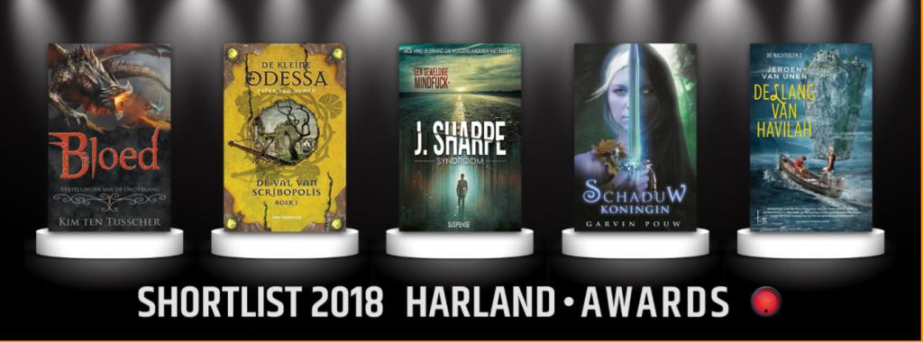Dag van het Fantastische Boek winactie Shortlist Harland Awards