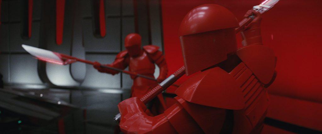 Star Wars: The Last Jedi op Blu-Ray en dvd Preatorian Guards
