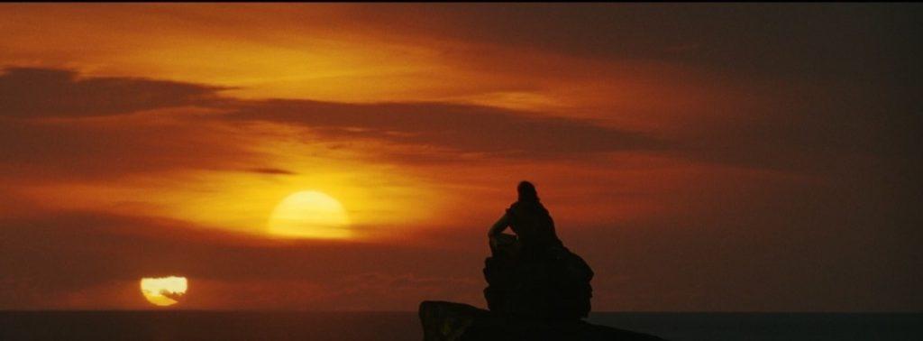 Luke Skywalker sunset