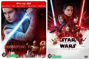 Star Wars: The Last Jedi op Blu-Ray en dvd Blu-Ray DVD