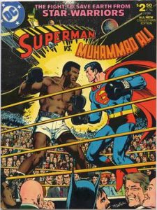 De historie van Superman Muhammad Ali