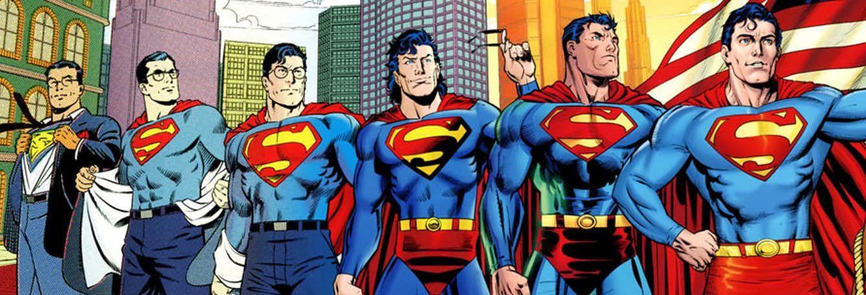 De historie van Superman: Supermannen Uitsnede