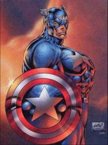 Deadpool Winactie Captain America