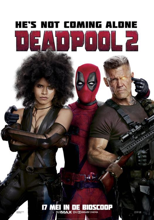 Pathé Deadpool Night Deadpool 2 poster