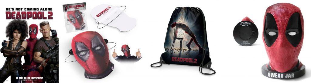 Deadpool 2 winactie prijzen