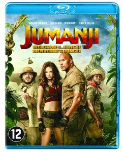 Jumanji: Welcome to the Jungle op Blu-Ray en dvd Blu-Ray