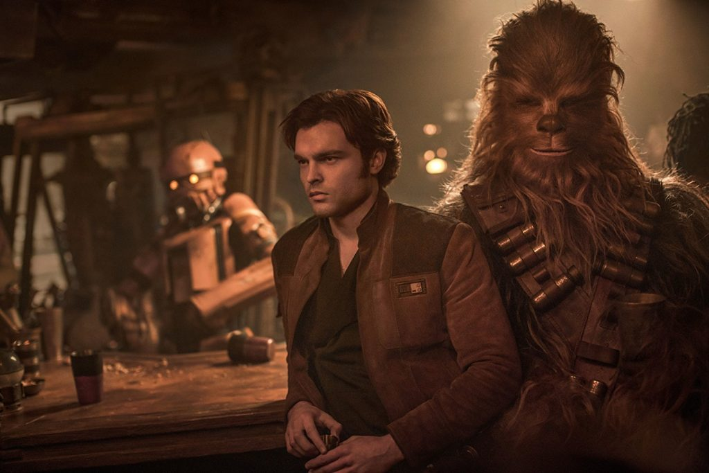 Solo: A Star Wars Story louncing
