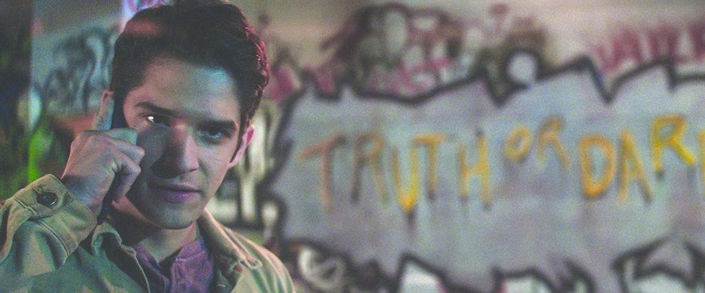 Truth or Dare graffiti