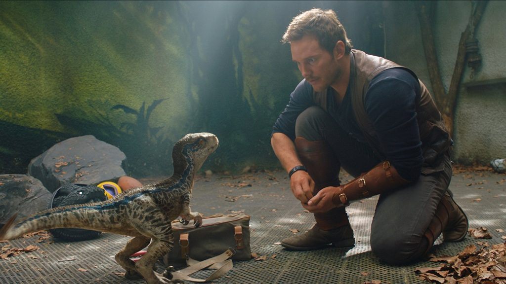 Jurassic World: Fallen Kingdom baby Blue