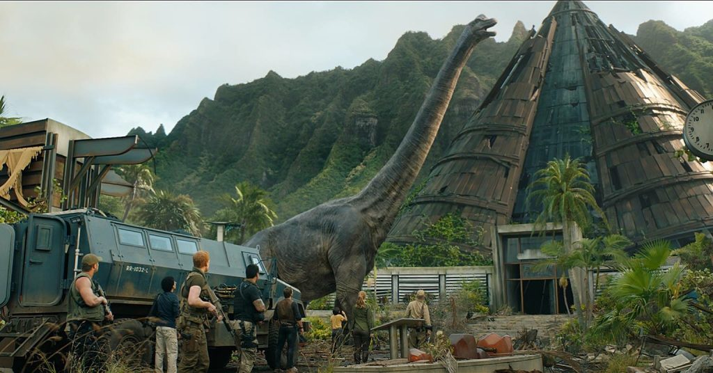 Jurassic World: Fallen Kingdom Brontosaurus