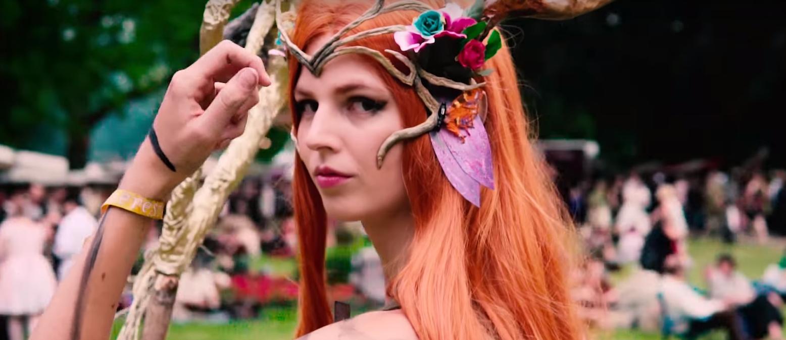 Castlefest 2018-winactie uitsnede kostuum