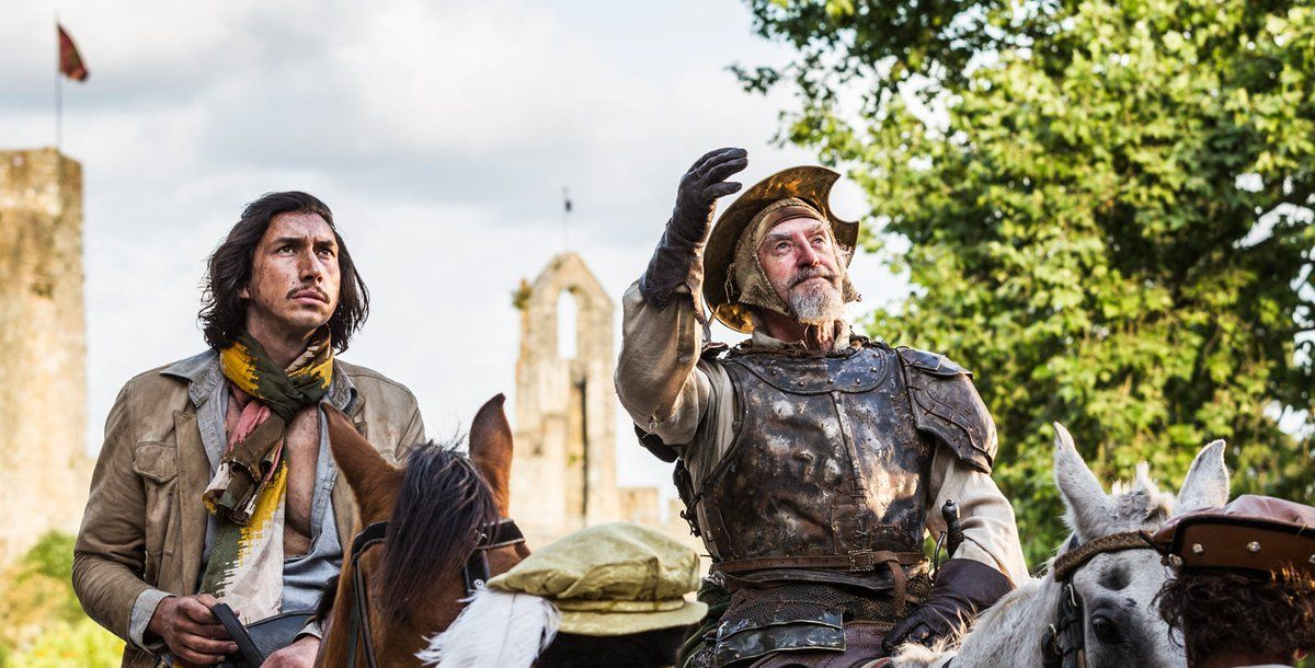 The Man Who Killed Don Quixote uitsnede