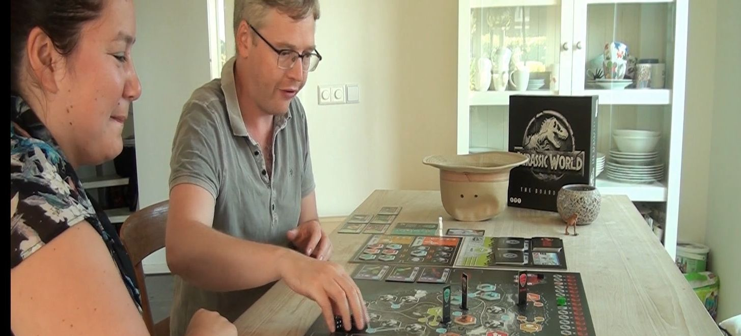 Jurassic World: het bordspel spelers uitsnede