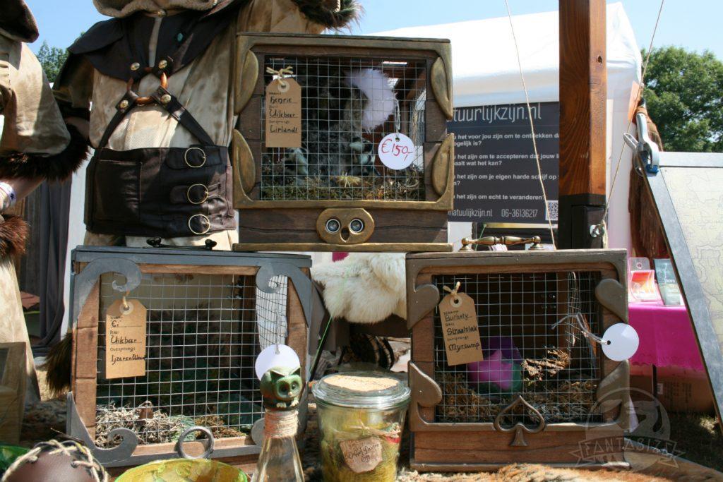 Mystical Fantasy Fair 2018 sfeerverslag uilberen in kooi
