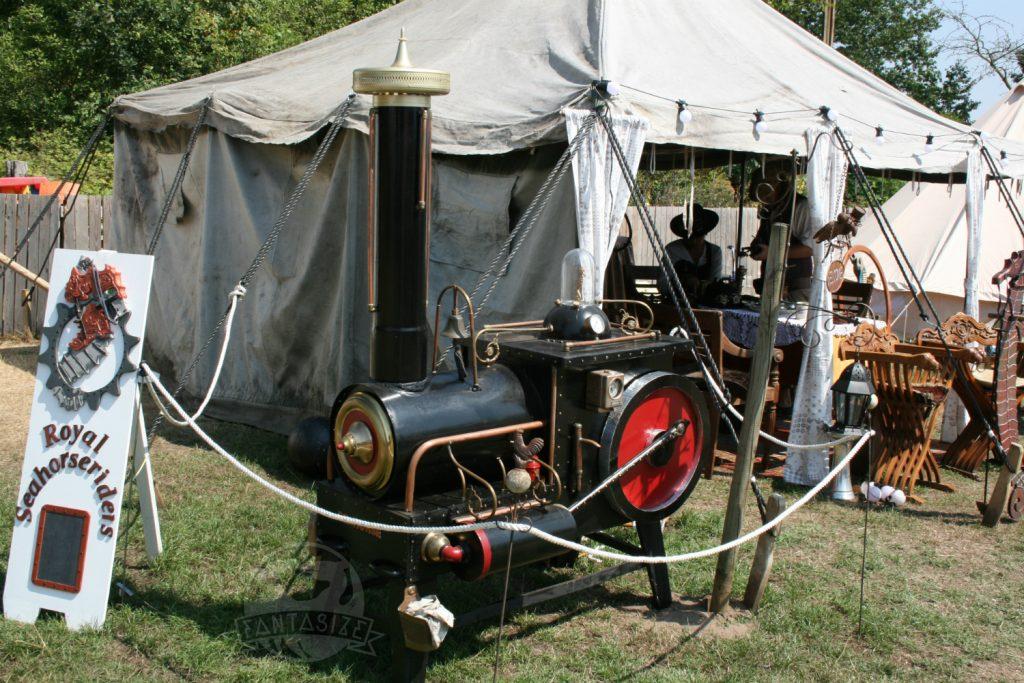 Mystical Fantasy Fair 2018 sfeerverslag stoommachine