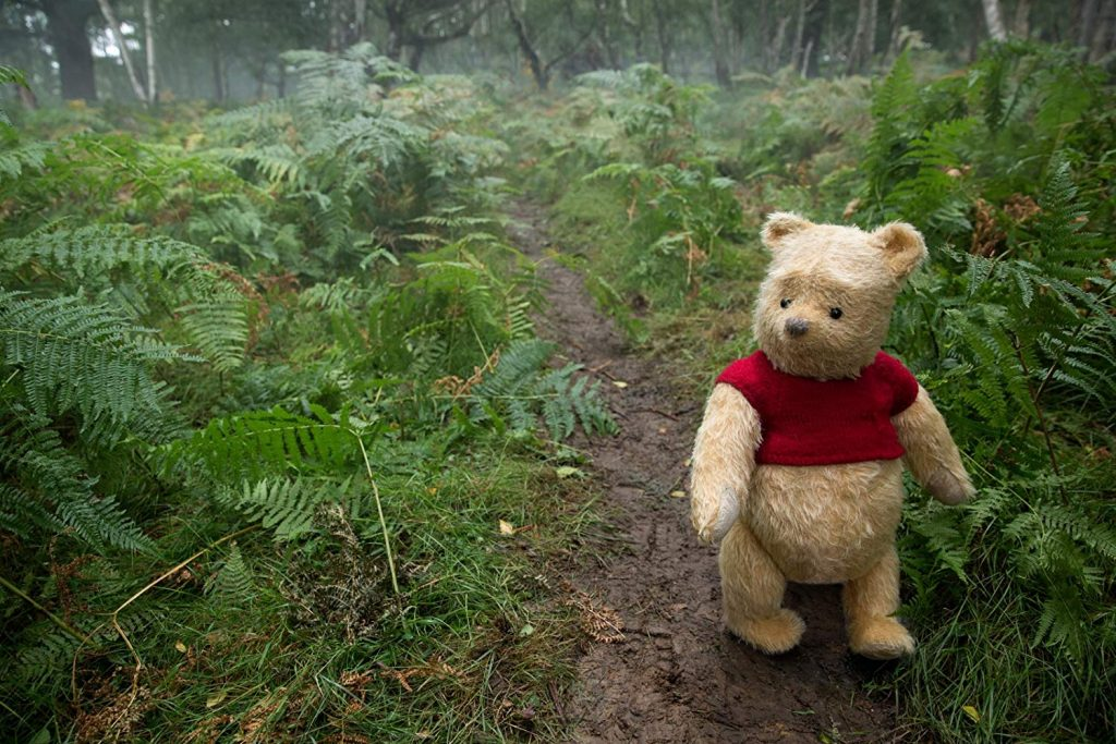 Christopher Robin Pooh in bos