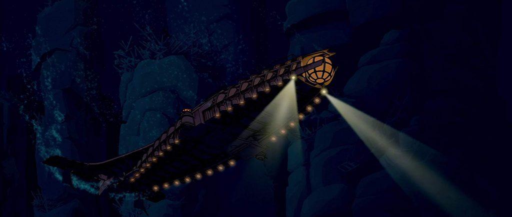 Steampunk Atlantis de Verzonken Stad
