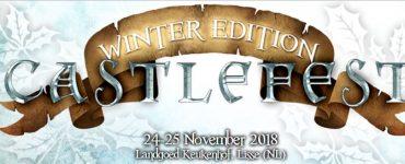 Castlefest 2018 Winter Edition banner