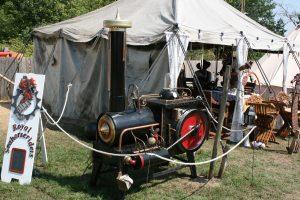 Steampunk stoommachine