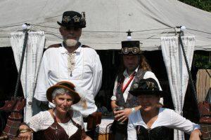 Steampunk Royal Seahorse Riders