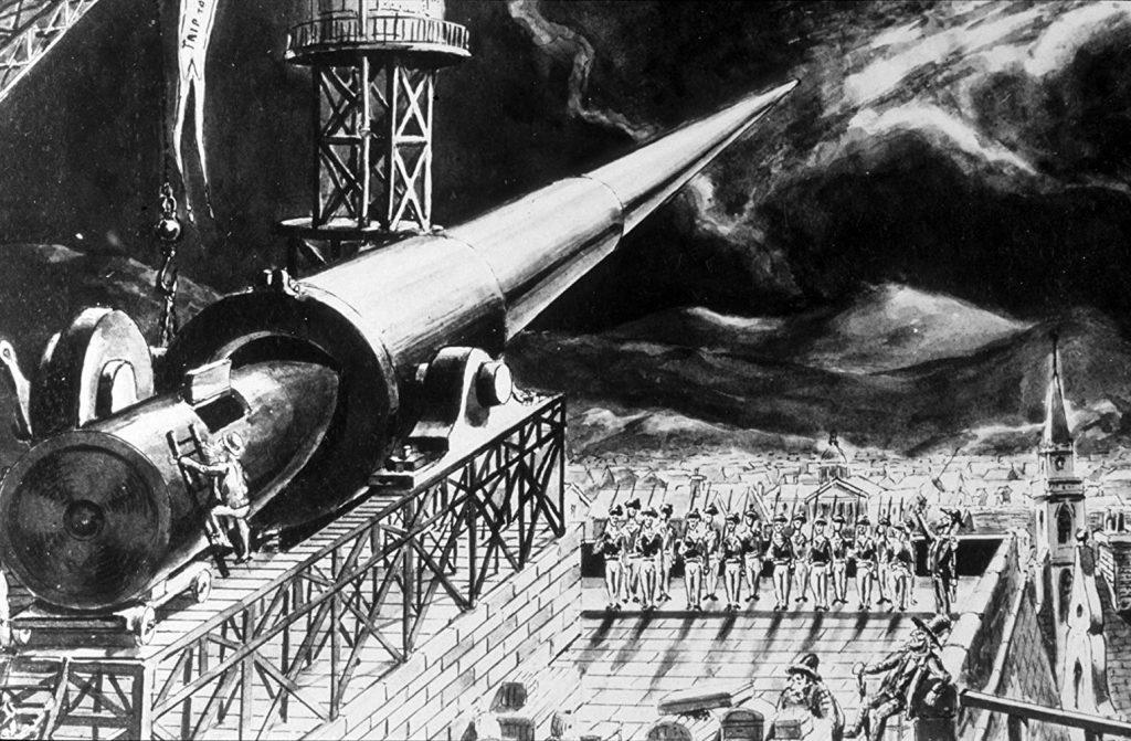 Steampunk La Voyage Dans La Lune