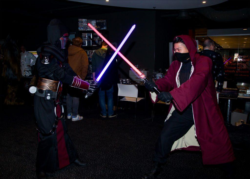 Star Wars Echo Base Charity Con 2019 Modern Myths lightsabers