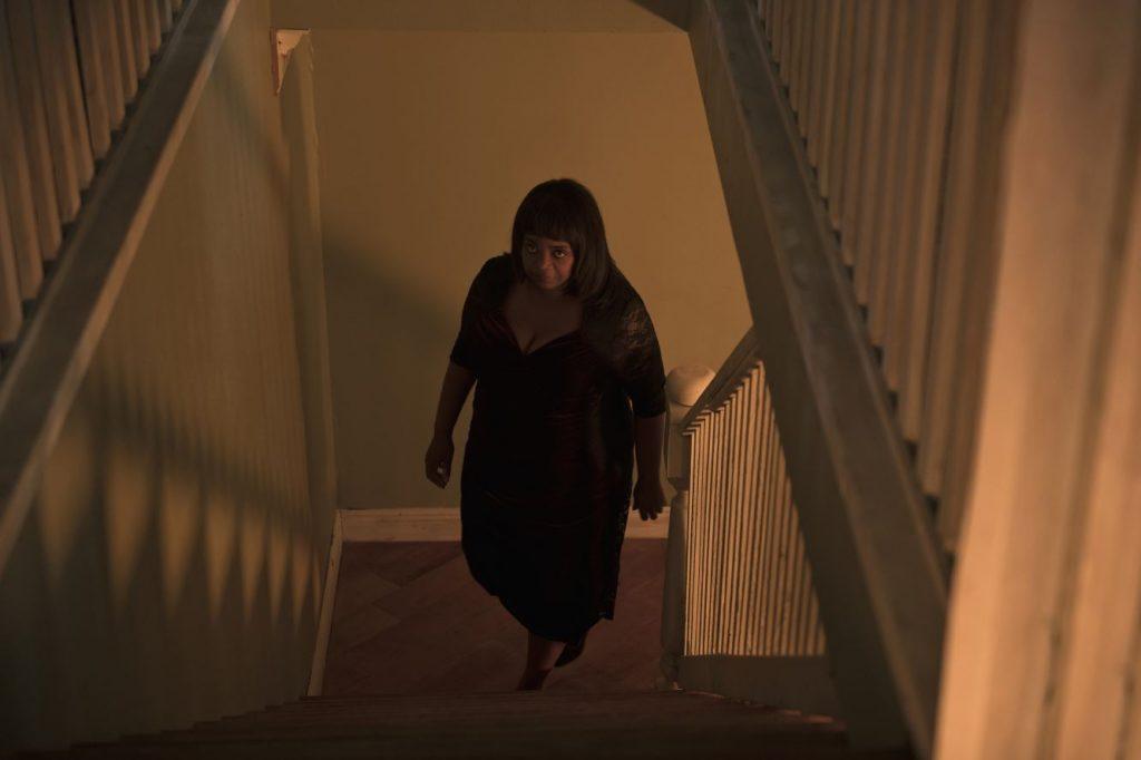 Ma op de trap
