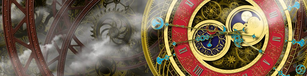 Steampunk banner AJLoonstra
