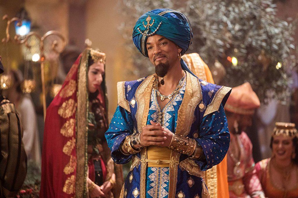 Aladdin Genie in menselijke gedaant
