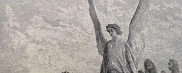 De engel: Dante - De Goddelijke komedie - uitsnede 2