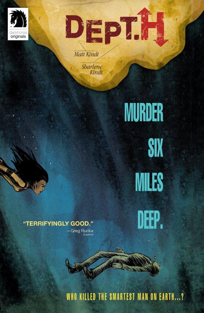 Johan Klein Haneveld – Mijn 5 favoriete Amerikaanse SF-strips: Dept. H