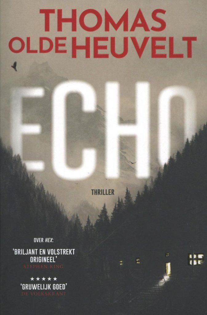 Echo cover - Thomas Olde Heuvelt