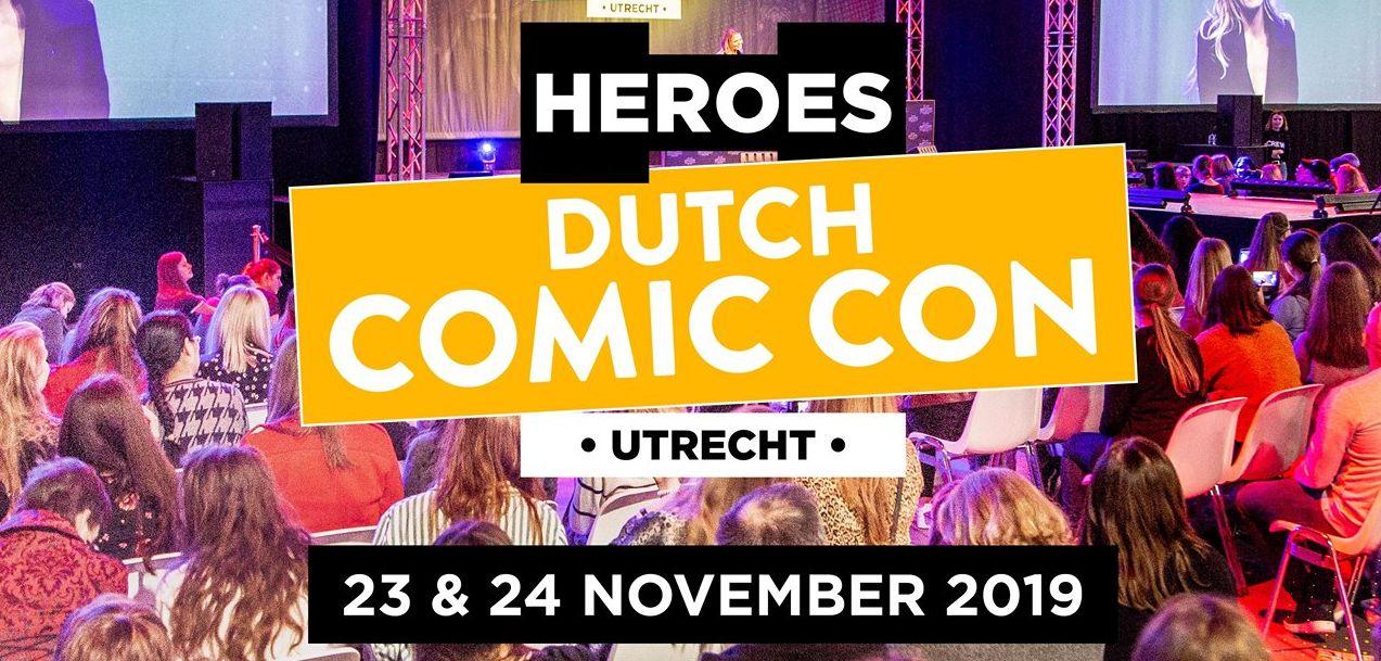 Heroes Dutch Comic Con Winter Editie 2019 logo uitsnede