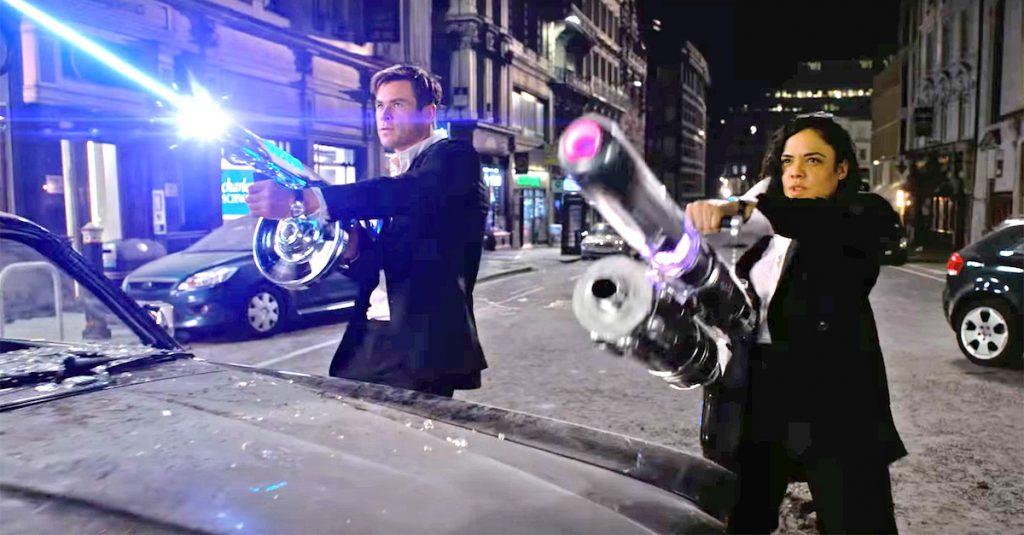 Men in Black: International Agent M en Agent H met grote geweren