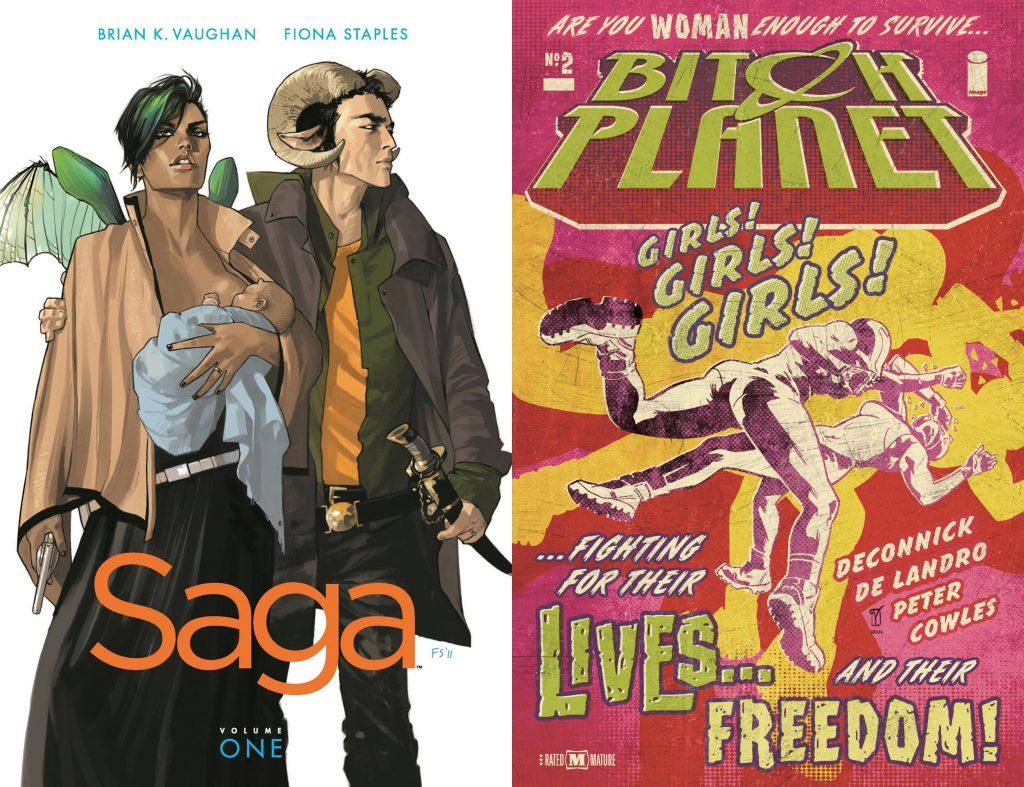 Johan Klein Haneveld – Mijn 5 favoriete Amerikaanse SF-strips: Saga en Bitch Planet