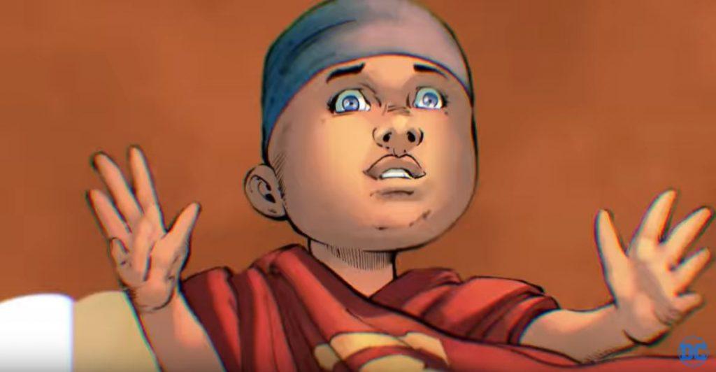 Superman: Year One baby Kal-El