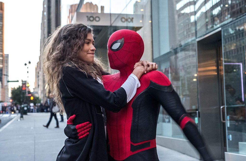 Spider-Man: Far From Home - Spider-Man en MJ romance